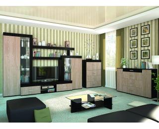 Obývacia izba Mils - dub rodos / wenge magic