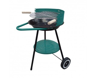 Záhradný gril MIR-276 - čierna / zelená