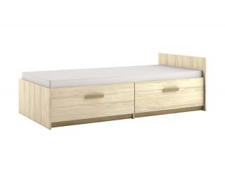 Detská posteľ s roštom Best 17 90 - breza / dub divoký