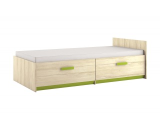 Detská posteľ s roštom Best 17 90 - breza / limetková