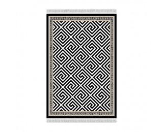 Koberec Motive 80x200 cm - čierna / biela