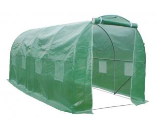 Záhradný fóliovník Greenhouse 400x250x200 cm - zelená