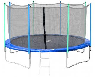 Trampolína Jumper 366 cm - čierna / modrá