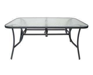 Záhradný stôl L150 - čierna