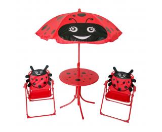 Detský záhradný set Ladybird - červená