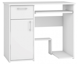 PC stolík Lunden - biela