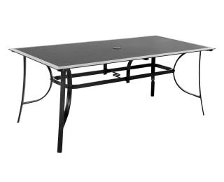 Záhradný stôl M150 - čierna