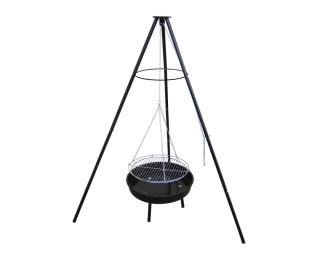 Záhradný gril MIR-281 - čierna