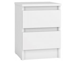 Nočný stolík Molgan - biela