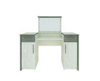 Toaletný stolík so zrkadlom Salernes SR3 - pino aurelio / madagascar / nelson