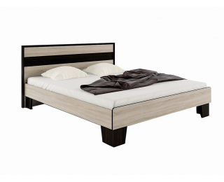 Manželská posteľ Seina 1600 - dub sonoma / wenge magic