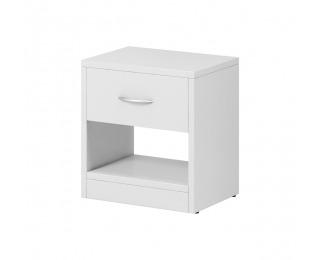 Nočný stolík Naka 1S - biela