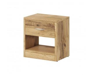 Nočný stolík Naka 1S - dub wotan
