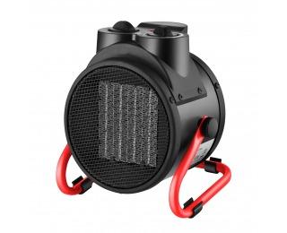 Dielenský plynový ohrievač NB-02R 2000 W - čierna / červená