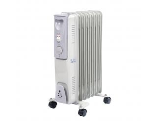 Elektrický olejový radiátor NB-1001 1500 W - biela