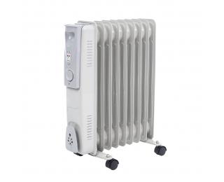 Elektrický olejový radiátor NB-1011 2000 W - biela