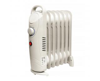 Elektrický olejový radiátor NB-1200 700 W - biela