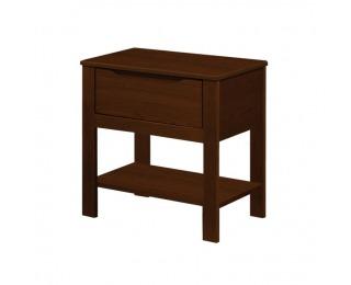 Nočný stolík Beroto - orech