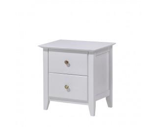 Nočný stolík Java 3 - biela
