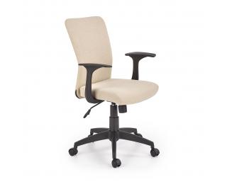 Detská stolička na kolieskach Nody - béžová