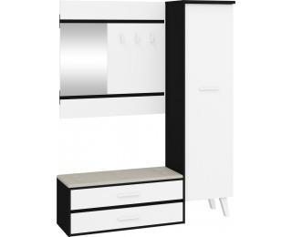 Predsieň Nordis NOR-18 - čierna / biela / béžová