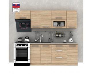 Kuchyňa Nova Plus 240 - dub sonoma