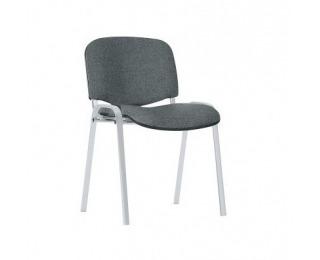 Konferenčná stolička Iso Chróm - sivá látka (C38)