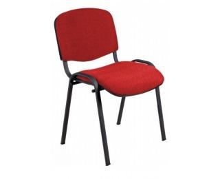 Konferenčná stolička Iso - červená látka (C2)