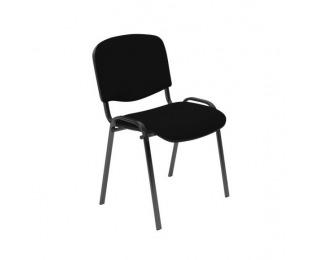 Konferenčná stolička Iso - čierna látka (C11)