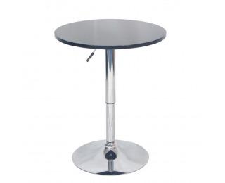 Okrúhly barový stôl Brany New - čierna