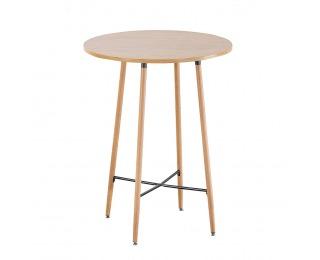 Okrúhly barový stôl Imam - dub