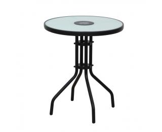 Záhradný stolík Olivan - čierna