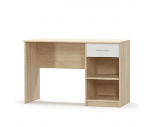 PC stôl Teyo 1S - dub sonoma / biela