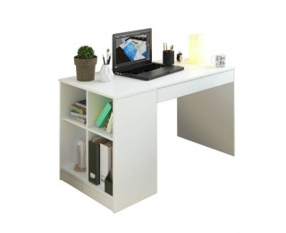 PC stôl Vendi - biela