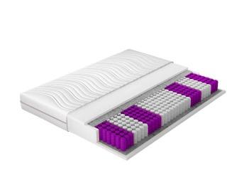 Obojstranný taštičkový matrac Pineta 200 200x200 cm