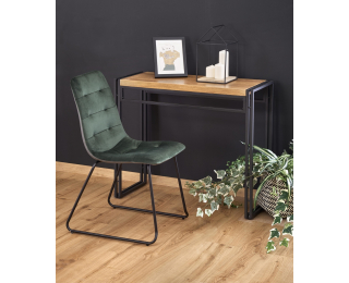 Písací stôl Bolivar KN1 - dub zlatý / čierna