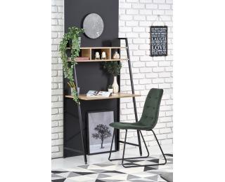 Písací stôl Narvik B2 - dub sonoma / čierna