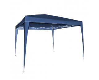 Rýchlorozkladací záhradný altánok Pogy 300x300 cm - modrá