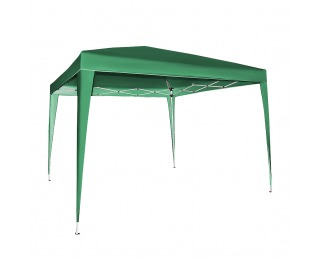 Rýchlorozkladací záhradný altánok Pogy 300x300 cm - zelená