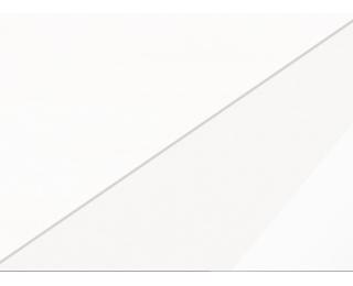 Nočný stolík Viki VIK-14 - biela / biely lesk