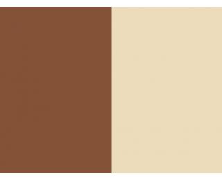 Závesné hojdacie kreslo Bahamas - hnedý ratan / béžová poduška