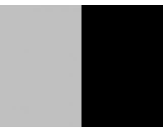 Závesné hojdacie kreslo Cuban - sivý ratan / čierne podušky
