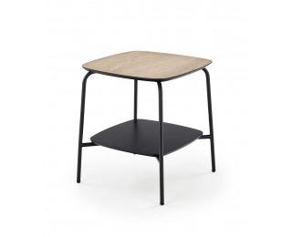 Príručný stolík Genua LAW1 - prírodná / čierna
