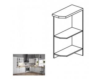 Dolná kuchynská skrinka Provance D25PZ L - biela