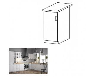 Dolná kuchynská skrinka Provance D30 L - biela / sosna Andersen