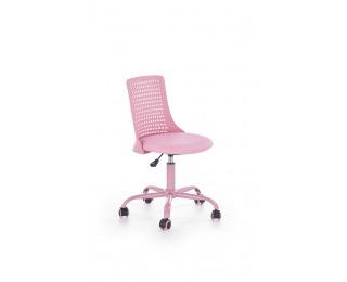 Detská stolička na kolieskach Pure - ružová