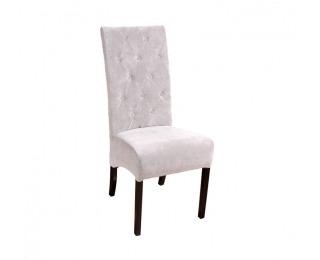 Jedálenská stolička Chesterfield - wenge / krémová (Fresh 1)