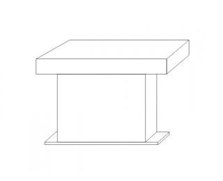 Konferenčný stolík Kacper - wenge