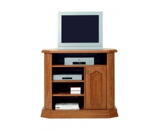 Rustikálny TV stolík Kinga A - drevo D3