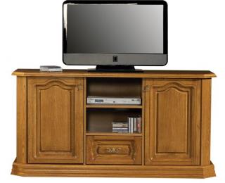 Rustikálny TV stolík Kinga B - drevo D3